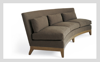 Curved Intermezzo Sofa