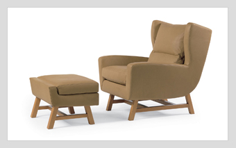 Skoop Chair & Ottoman